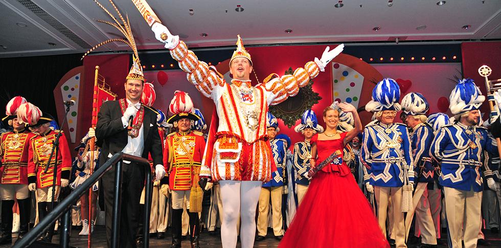 Prinzenpaar_Große_Karnevalssitzung_Düsseldorf