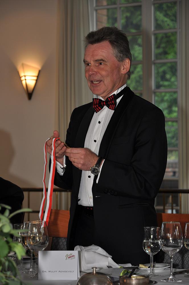 GROßE Einladung unseres Protektors Dr. Wulff Aengevelt