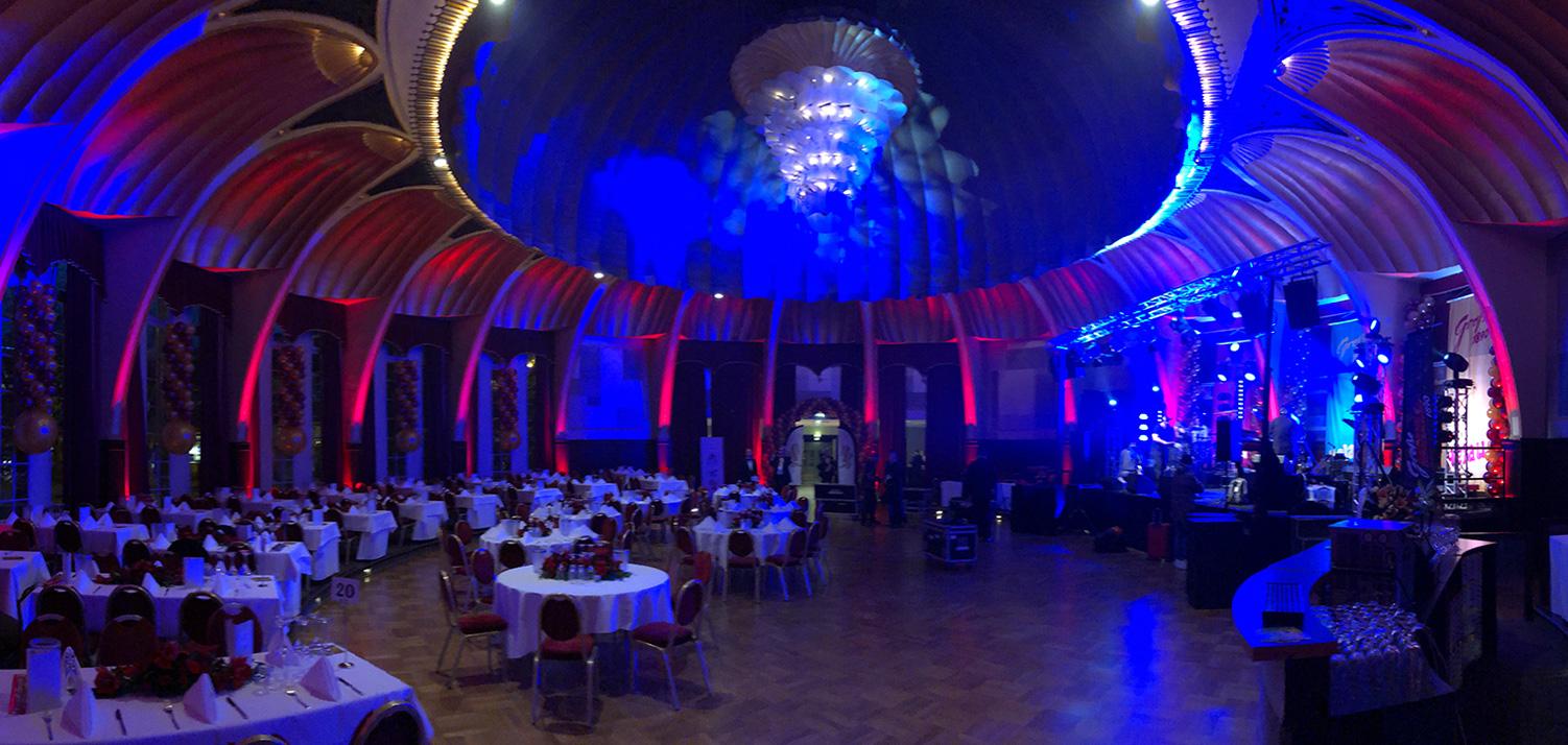 GROßE 1890 Düsseldorf Ball Rheingoldsaal