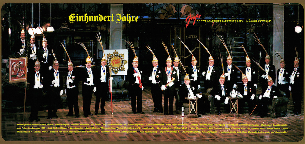 GROßE 1890 feiert den 70. Geburtstag von Protektor Wulff Aengevelt