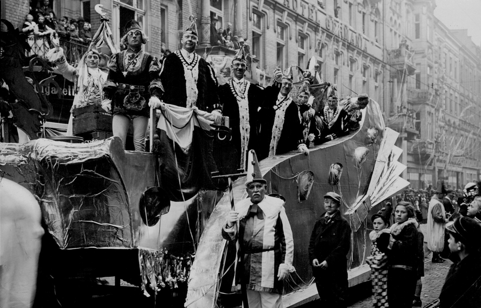 Grosse 1890 Rosenmonntagswagen 1935 Düsseldorf