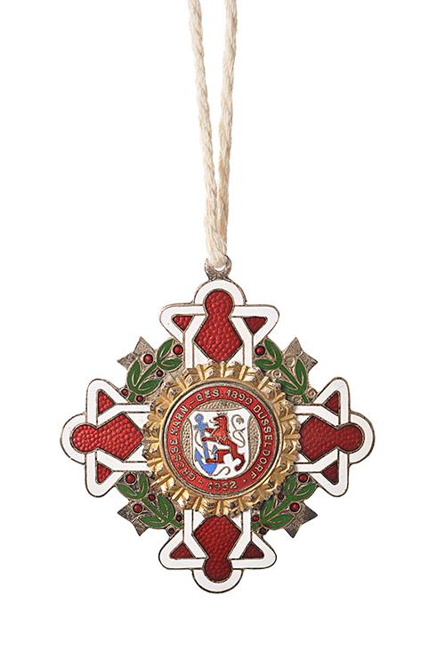 GROßE 1890 Düsseldorf Karneval Orden 1952