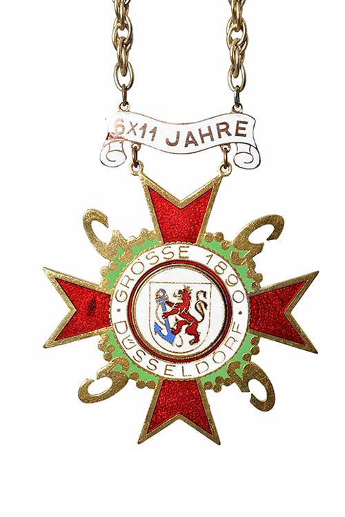 GROßE 1890 Düsseldorf Karneval Orden 1956