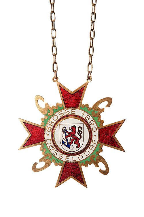 GROßE 1890 Düsseldorf Karneval Orden 1957