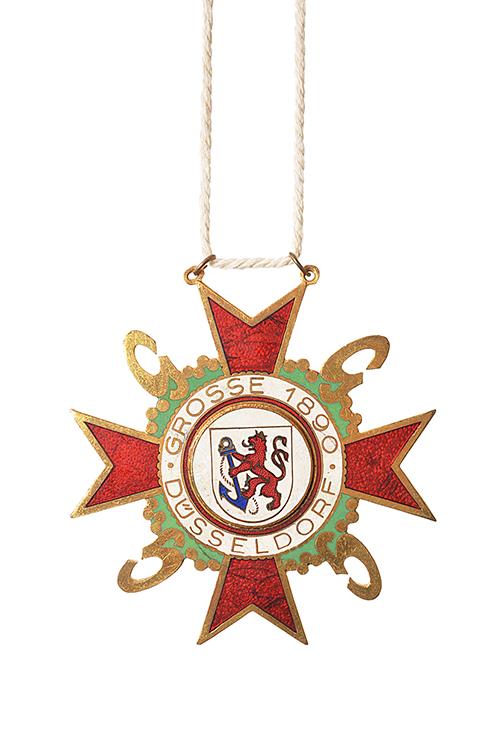 GROßE 1890 Düsseldorf Karneval Orden 1958