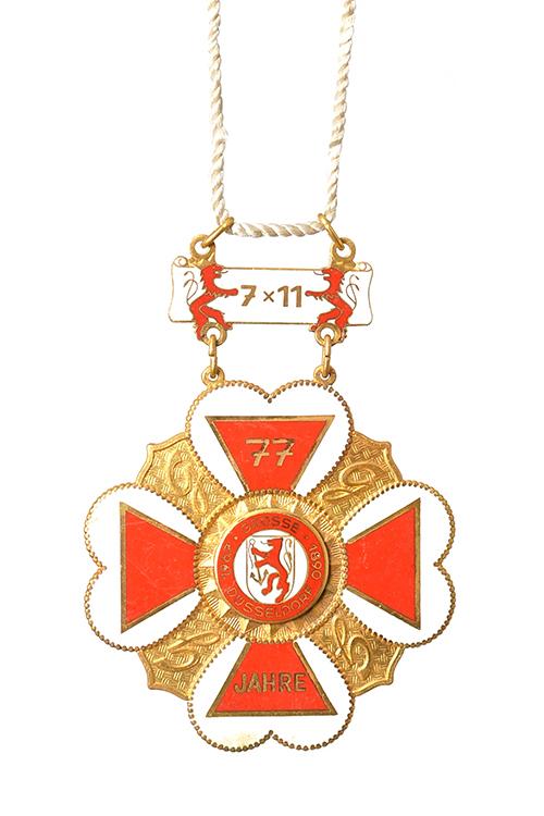 GROßE 1890 Düsseldorf Karneval Orden 1967