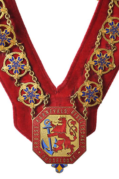Grosse 1890 Karneval Präsidentenkette