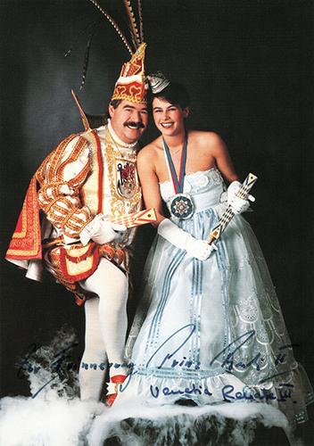 GROßE 1890 Karnevalsprinzen Rudi Höhe