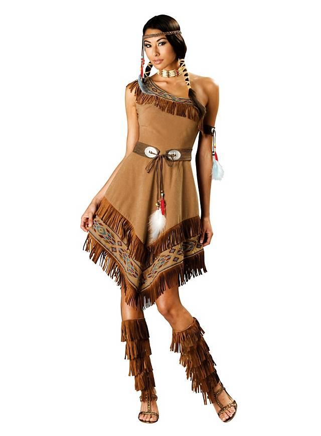 Grosse 1890 Tipp Indianer Karneval Kostüm für Damen