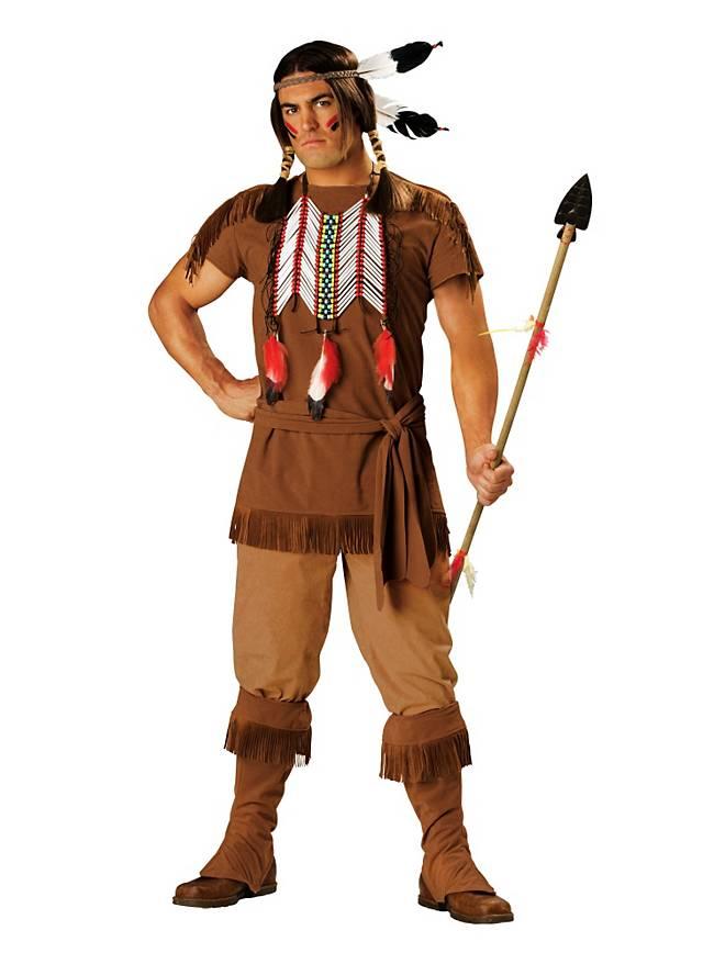 Grosse 1890 Tipp Indianer Karneval Kostüm für Herren