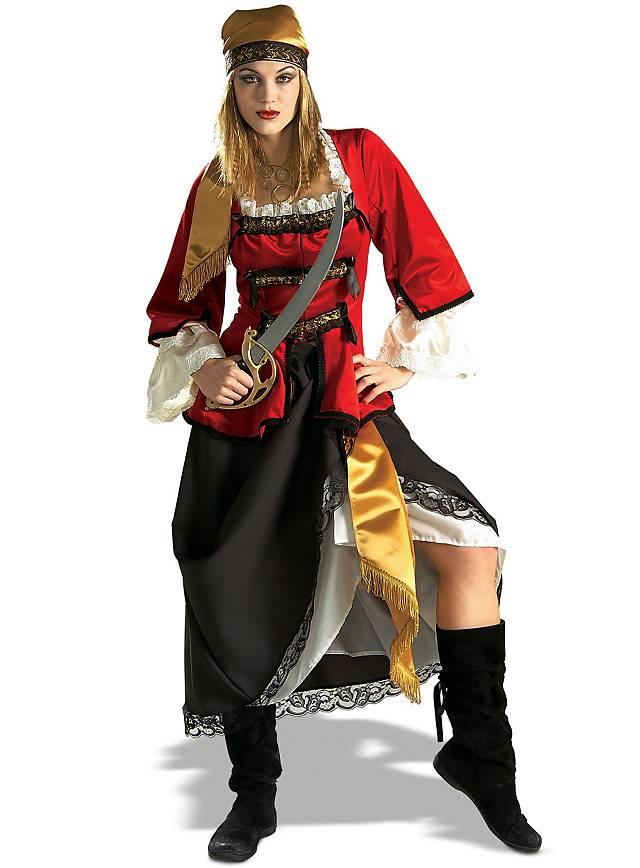 Grosse 1890 Tipp Piraten Karneval Kostüm für Damen