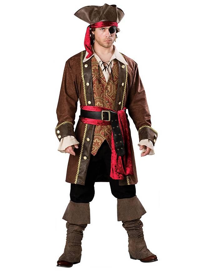 Grosse 1890 Tipp Piraten Karneval Kostüm für Herren