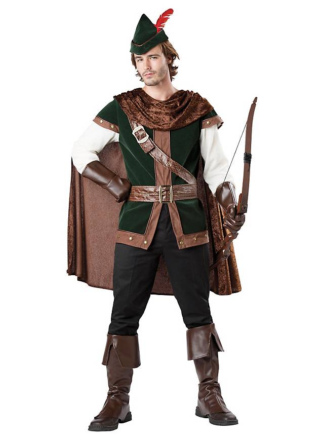 Grosse 1890 Tipp Robin Hood Karneval Kostüm für Herren