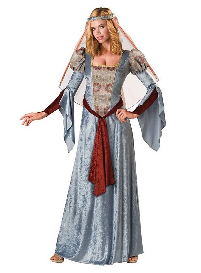 Grosse 1890 Tipp Maid Marian Karneval Kostüm für Damen